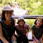 Joana and kids